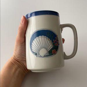 Vintage Seashell Ocean Mermaid Mug